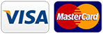 We accept Visa/Mastercard